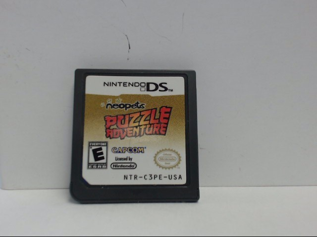 Nintendo DS Game NEO PETS PUZZLE ADVENTURE Cartridge Only