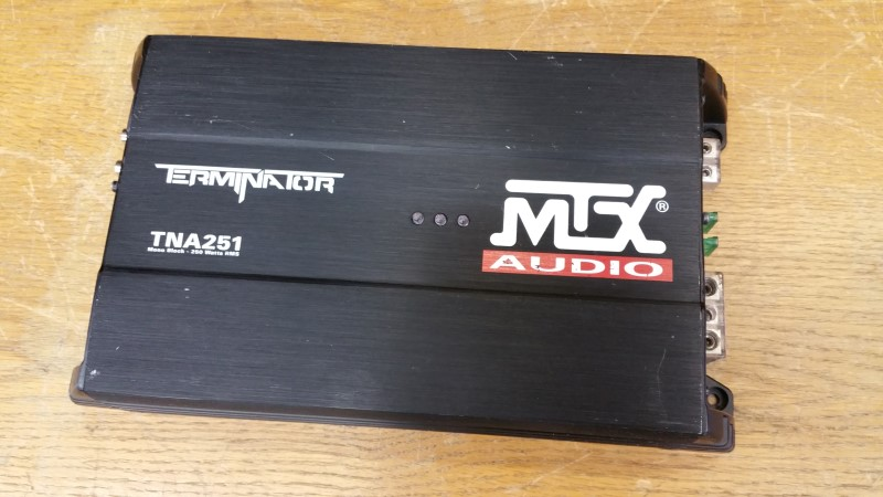 MTX TERMINATOR CAR AMP - 250WATT