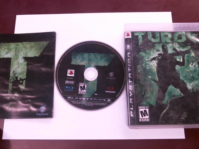 SONY PS3 TUROK WITH MANUAL