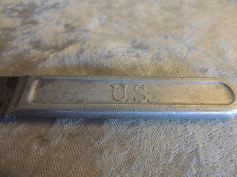 US WW1 Mess Kit Knife Marked U.S. , L.F.& C. 1917