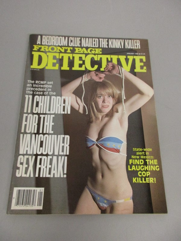 LOT OF 6 VINTAGE INSIDE DETECTIVE TRUE DETECTIVE FRONT PAGE DETECTIVE MAGAZINES