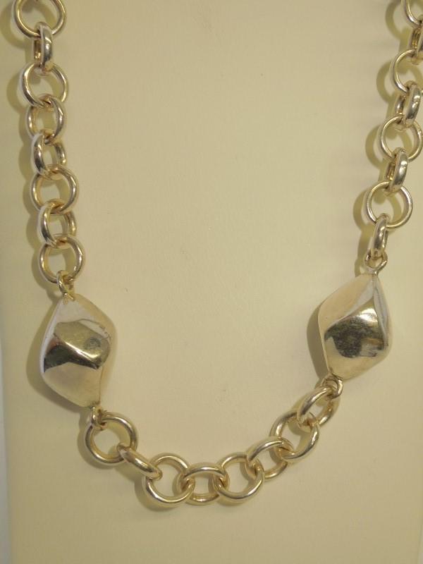 """33"""" Silver Fashion Chain 925 Silver 61.4g"""