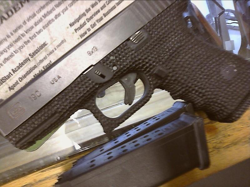 GLOCK Pistol 19C GEN3 9MM USED