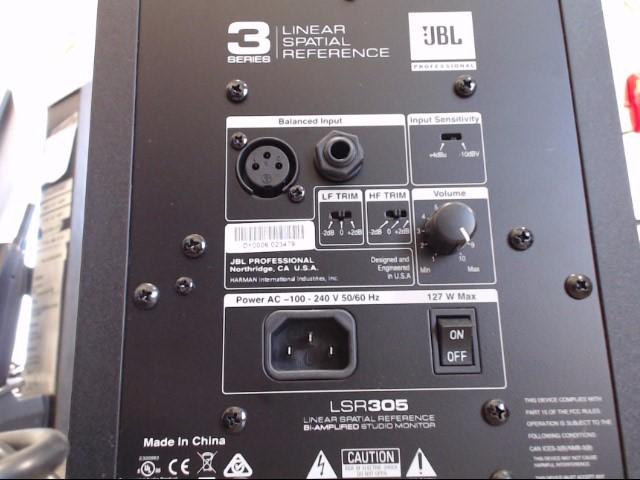 JBL LSR305 3-SERIES (HOME SUB)