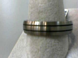 Gent's Wedding Band Silver Titanium 2.1dwt