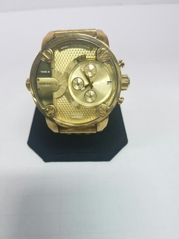 DIESEL DZ7287 WATCH    GOLD