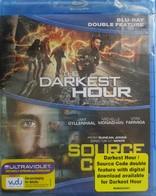 BLU-RAY MOVIE Blu-Ray DOUBLE FEATURE: DARKEST HOUR; SOURCE CODE