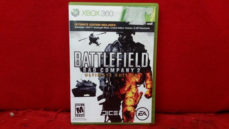 Battlefield: Bad Company 2 -- Ultimate Edition (Microsoft Xbox 360, 2010)