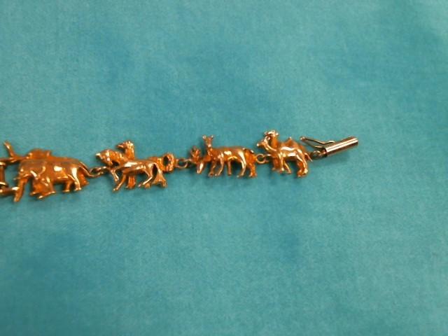 Gold Bracelet 10K Yellow Gold 8.3dwt