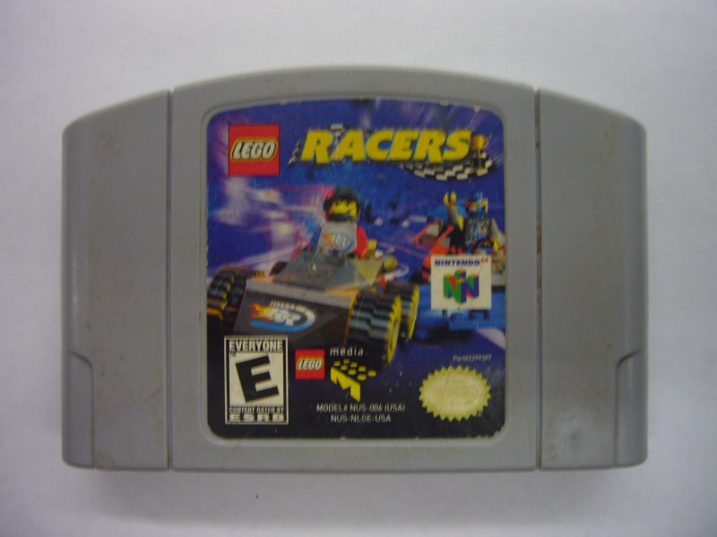 NINTENDO 64 Game LEGO RACERS *CARTRIDGE ONLY*