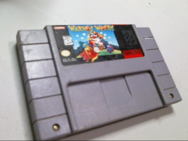 NINTENDO SNES GAME: WARIO'S WOODS