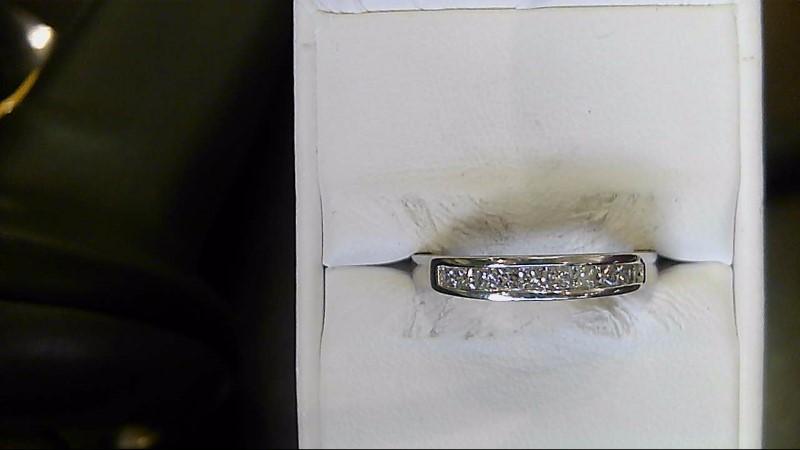 Platinum Diamond Wedding Set 10 Diamonds .50 Carat T.W. 950 Platinum 5.5g