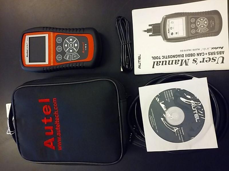 AUTEL Diagnostic Tool/Equipment AUTOLINK AL619/AL619 EU