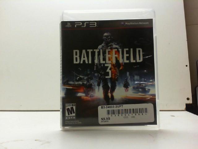 SONY Sony PlayStation 3 Game BATTLEFIELD 3