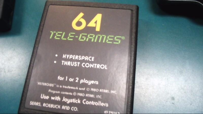 ATARI Vintage Game GAMES-Asteroids
