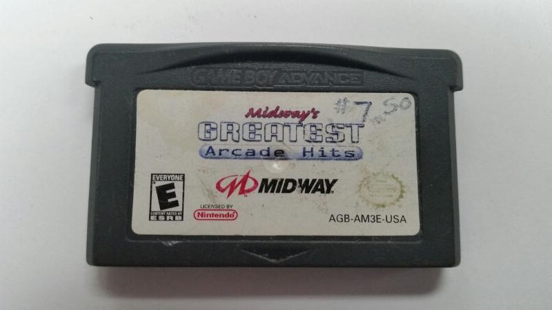 NINTENDO GBA MIDWAY'S GREATEST ARCADE HITS