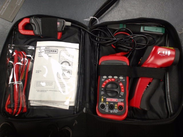 CRAFTSMAN Multimeter TEST INSTRUMENT KIT