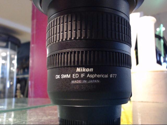 NIKON Lens/Filter DX SWM ED IF ASPHERICAL 12-24MM