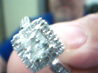 Lady's Diamond Engagement Ring 29 Diamonds 1.85 Carat T.W. 14K Yellow Gold