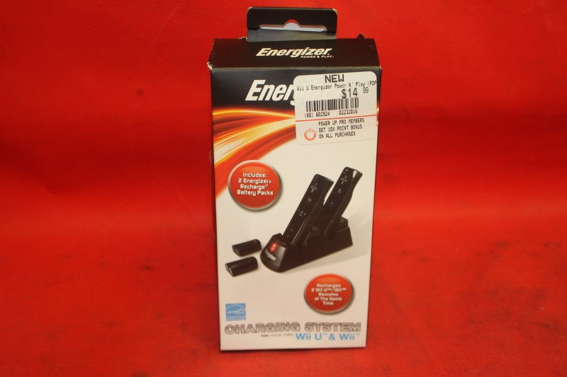 PDP Energizer 2X Charging System For Wii U & Wii