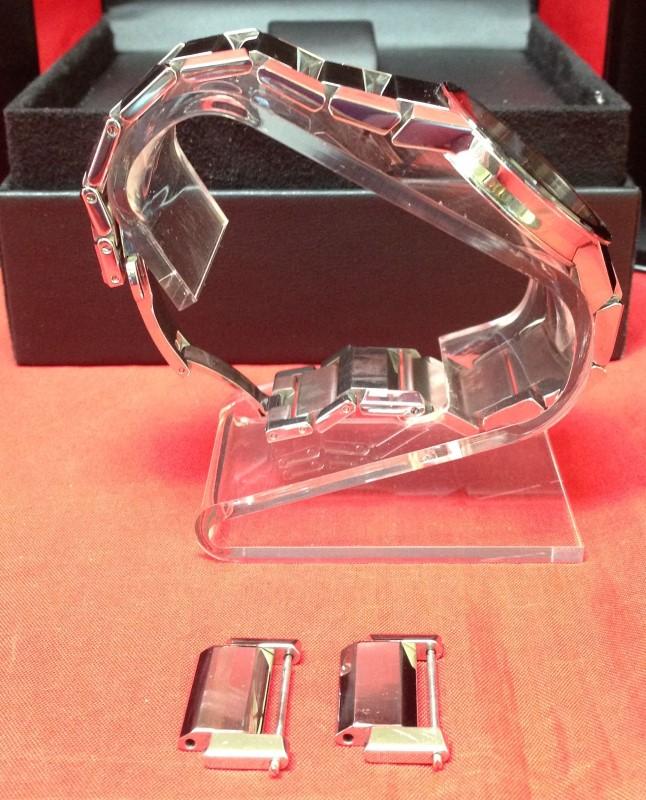 Movado Men's Swiss Sapphire Stainless Steel Watch 84-G1 2896 38mm 0606093