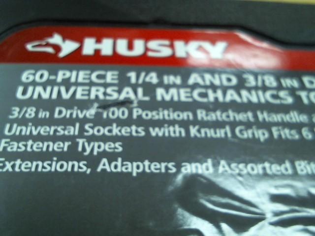 HUSKY Sockets/Ratchet 60 PC SOCKET SET