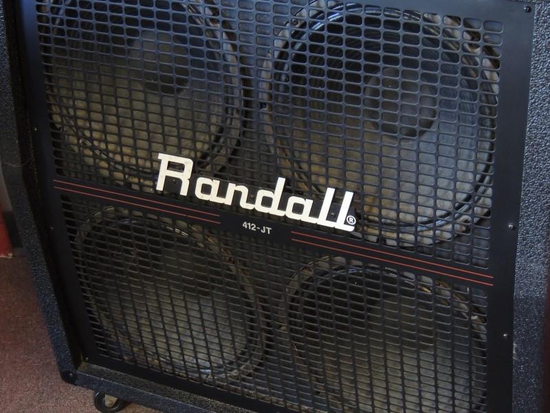 RANDALL AMPLIFIER R412-JT 200W 4x12 VGUC