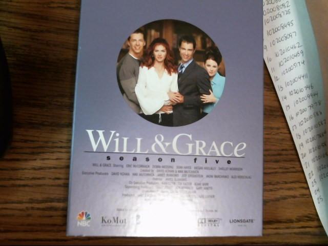 Will & Grace Season 5 DVD