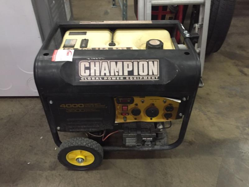 CHAMPION POWER EQUIPMENT Generator 4000W GENERATOR