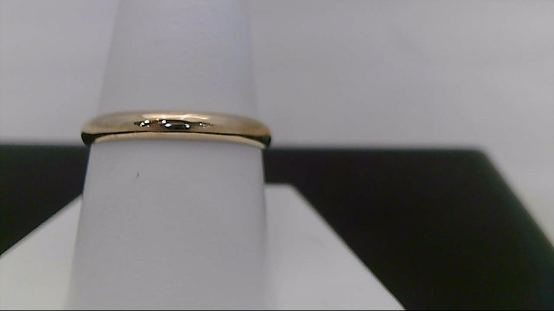 Gent's Gold Wedding Band 10K Yellow Gold 0.7g