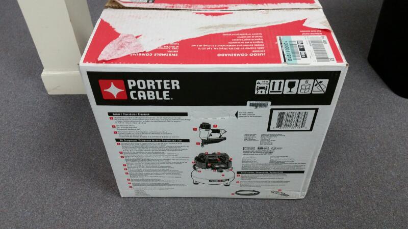 PORTER CABLE COMPRESSOR COMBO KIT PCFP72671