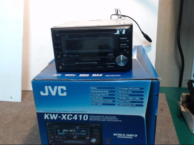 JVC Car Audio KW-XC410