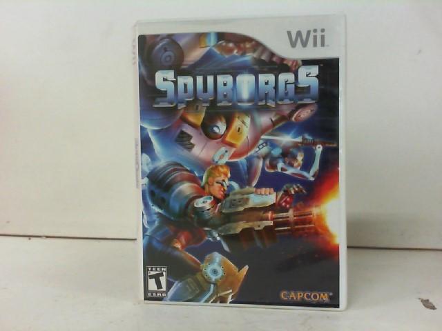 NINTENDO Nintendo Wii Game WII SPYBORGS