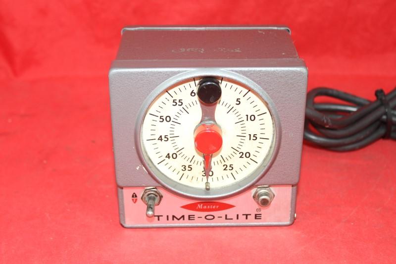 TIME-O-LITE MASTER DARKROOM TIMER MODEL M59 Vintage Photography