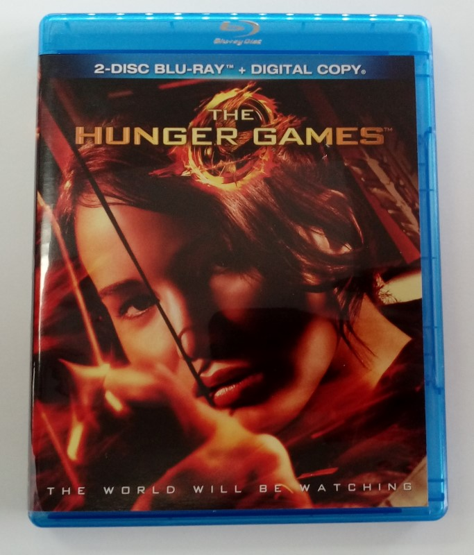 THE HUNGER GAMES, ACTION BLU-RAY