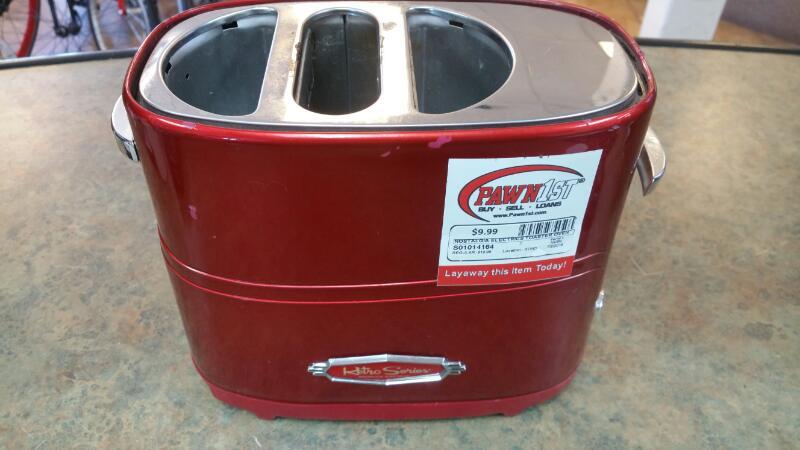 NOSTALGIA ELECTRICS Toaster Oven RETRO SERIES HDT600RETRORED