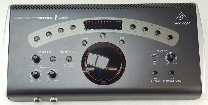 BEHRINGER XENYX CONTROL 1 USB Studio Control & Communication Center