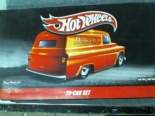 HOT WHEELS Toy Vehicle DELIVERY 20 CAR SET