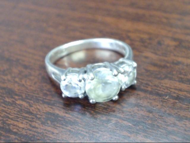 Lady's Silver Ring 925 Silver 3.1g Size:6.5