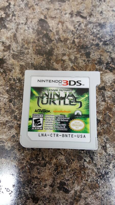 Teenage Mutant Ninja Turtles Movie Game (Nintendo 3DS, 2014) TMNT