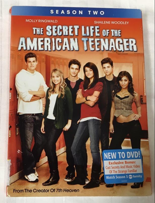 DVD BOX SET THE SECRET LIFE OF THE AMERICAN TEENAGER SEASON TWO