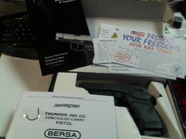BERSA Pistol THUNDER 380 CC