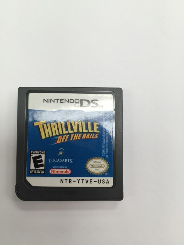 NINTENDO DS GAME ,THRILLVILLE OFF THE RAILS