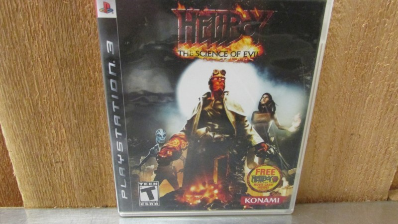 SONY Sony PlayStation 3 HELLBOY THE SCIENCE OF EVIL PS3