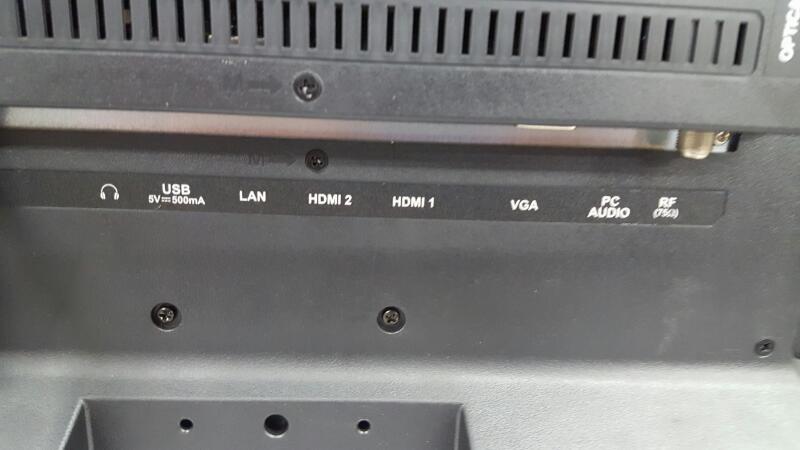 ELEMENT ELECTRONICS Flat Panel Television ELEFJ322S