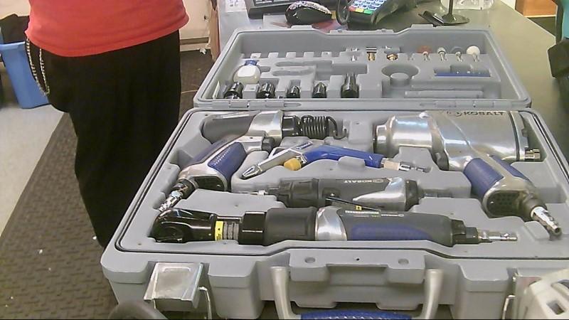 KOBALT TOOLS Air Impact Wrench 50 PIECE AIR TOOL KIT