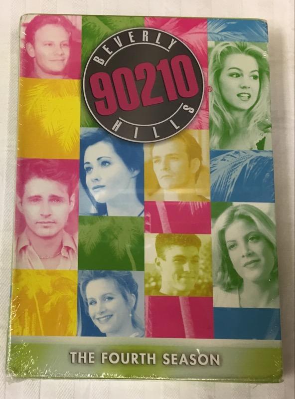 DVD BOX SET BEVERLY HILLS 90210 SEASON 4