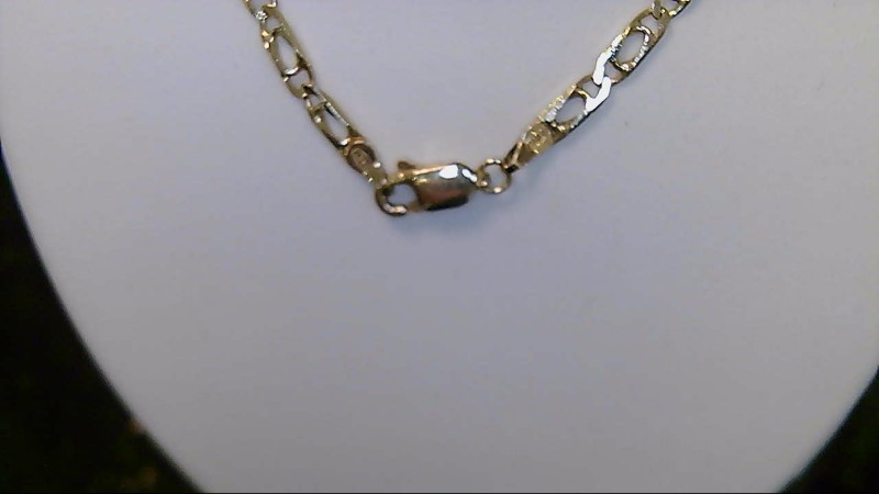 "14k yellow gold 24"" fashion chain"