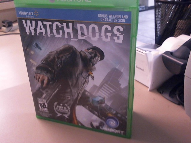 WATCH DOGS-XBOX ONE