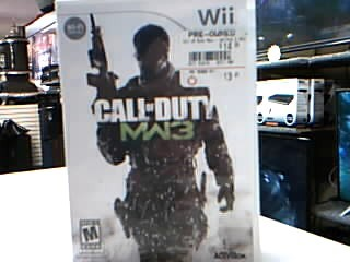 NINTENDO Game CALL OF DUTY MW3-WII